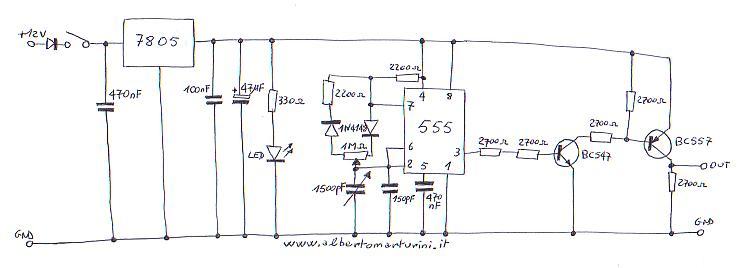 Schema Elettrico Per Temporizzatore : Il regolatore di potenza